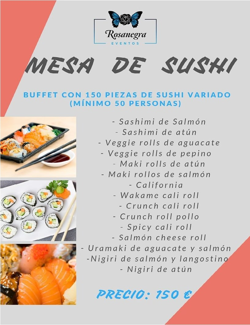 mesa-sushi-bodas-bautizos-comuniones-low-cost